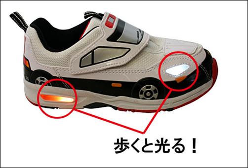 歩くと光るキャラクター靴.png